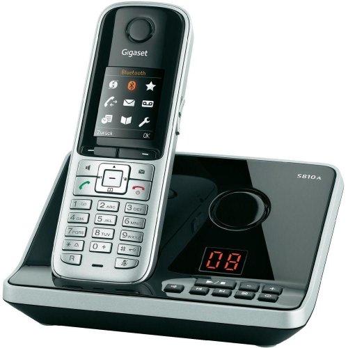 [B-Ware] Gigaset S810A Schnurlostelefon, Anrufbeantworter, Bluetooth @ Conrad über Ebay für 45€