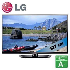 LG 50PN4503 127 cm (50 Zoll) Plasma-Fernseher, EEK A (HD Ready, DVB-T/C, HDMI, USB 2.0) schwarz für 399€ im Markt (real bundesweit)