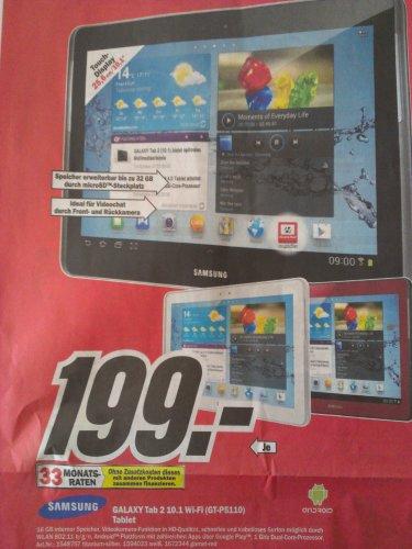 [MM Karlsruhe] Samsung Galaxy Tab 2 10.1 WiFi 16GB