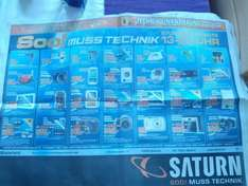 [Saturn Bielefeld]  Im Saturn Bielefeld gibt's heute teilweise sehr gute Stundenangebote. Siehe Prospekt. Z.B. die GoPro Hero 3 White Edition für 169,00 (Idealo: 208,99)