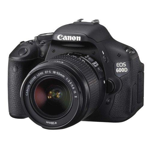 Canon EOS 600D + EF-S 18-55mm IS II  für 444 EUR Versandfrei