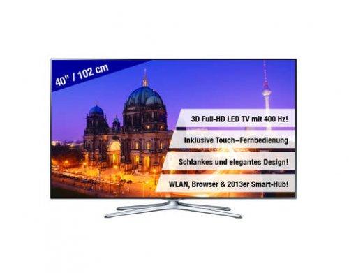SAMSUNG 40 Zoll 3D LED-TV F6500 3D-LED (UE40F6500SSXZG) @mein Paket