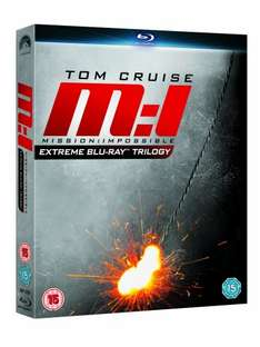 Mission : Impossible - Die Blu-ray Trilogie Box für 11,49€ [9,99£]