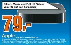Apple TV 3 im Saturn Berlin Marzahn für 79 Euro