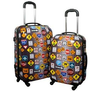 Poly-ABS-Kofferset, Trolley Koffer, 2 tlg., 89,95 Euro, versandkostenfrei