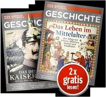Spiegel Geschichte 2 Ausgaben gratis