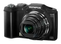 Olympus SZ-31MR Digitalkamera (16 Megapixel, 24-fach opt. Zoom, 7,6 cm (3 Zoll) Display, 3D Fotos , Duale Bildstabilisierung ) schwarz für 140€ @Amazon.co.uk