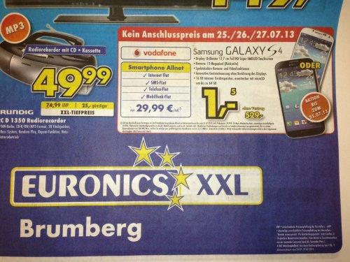 [Lokal/UN/MK/LÜN/HAM] ALL-NET-FLAT für mtl. 29,99€ mit Galaxy S4 für 1€ für Jedermann effektiv 9,20€/mtl.