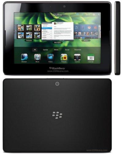 """BlackBerry Playbook WiFi - 32 GB - mit BlackBerry OS, 17.8 cm (7.0"""") Display, Auflösung 1024 x 600, schwarz - nächster Preis 134,90 €"""