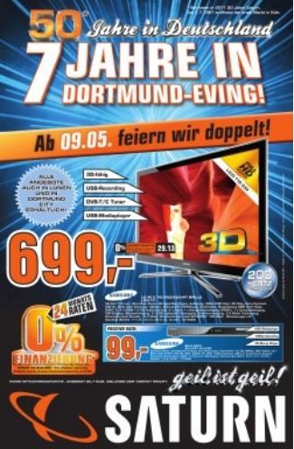 [Lokal] Saturn Dortmund Eving Samsung LE46C750