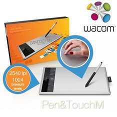 Grafiktablett Wacom Bamboo Fun Pen & Touch Tablet Medium v3 für 105,90 € @iBOOD