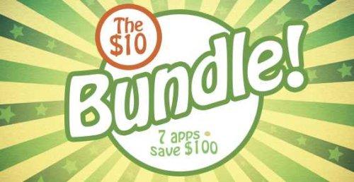 (MAC) Das 10$-Bundle von Two Dollars Tuesday mit 7 Apps für 9,99$ bzw. umgerechnet 7,52 Euro