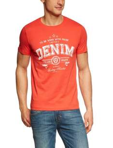 TOM TAILOR Denim Herren T-Shirt 10211780912/chest logo tee