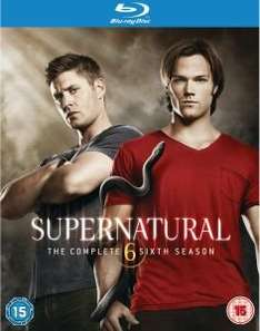 Supernatural Staffel 6 Blu-Ray (O-Ton nur Englisch)