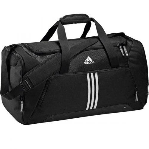 Adidas Performance Teambag M 3 Stripes Essentials black für 22,51€ - Idealo: 28,70€