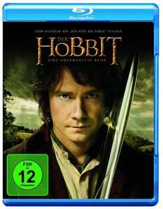 Der Hobbit und Prometheus (BluRay) - jeweils 8,99 € (amazon.de)