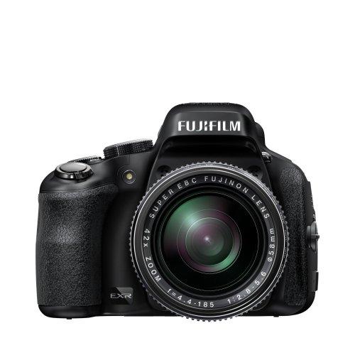 Fujifilm FinePix HS50EXR Digitalkamera (16 Megapixel, 42-fach opt. Zoom, Full-HD, 7,6 cm (3 Zoll) LCD CMOS Sensor, HDMI, bildstabilisiert, USB 2.0) schwarz inkl. Vsk für ca. 407 €