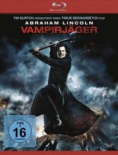 Abraham Lincoln - Vampirjäger (BluRay) - 8,99 € (Amazon.de)