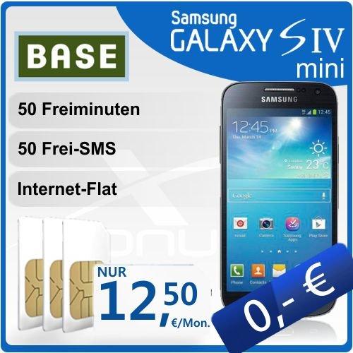 Samsung Galaxy S4 mini + Vertrag für effektiv 300€