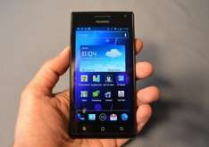 Huawei Ascend P1 für 189€ Android Smartphone