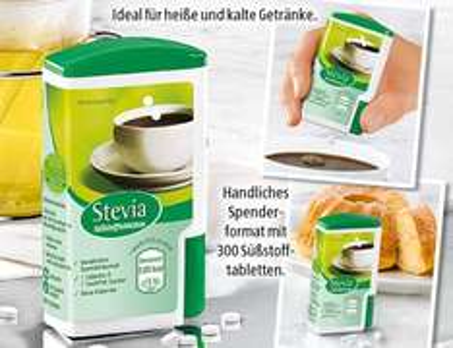 [Offline] Stevia Süßstofftabletten bei Aldi Süd