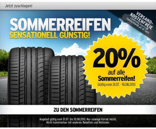 Not Another A.T.U.-Deal | Großer Sommerschlussverkauf | 20% auf alle Sommerreifen & Aluett Alufelgen | + weitere Angebote bei ATU Werkstatt