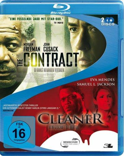 The Contract & Cleaner Sein Geschäft ist der Tod (2 Blu-rays) für 7,97 € [Amazon.de]