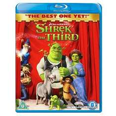 Shrek 3: Shrek The Third [Blu-Ray] für 3,55 @ WOWHD.CO.UK