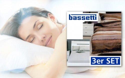 Bassetti Betwäsche, Laken, Kissen- und Bettbezug 29,95 € statt 169,- €