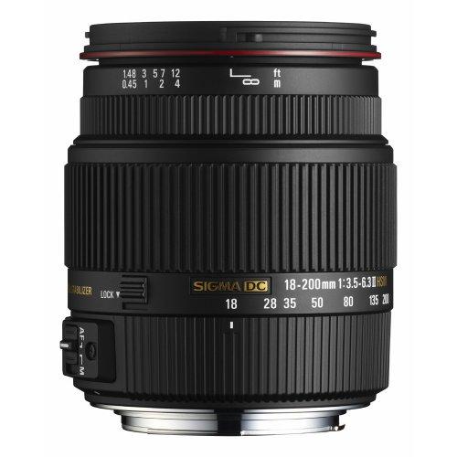Sigma 18 mm - 200 mm F/3.5-6.3 HSM DC OS II Objektiv Für Nikon für 146,52€ bei Limal-Sigma (ebay)