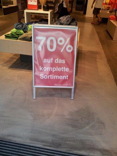 [Lokal Hamburg]  70% auf das komplette Sortiment von Marc O'Polo