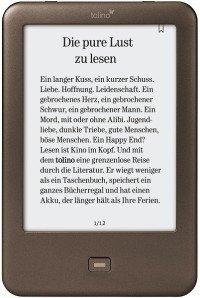 (Für alle Amazon gesperrten Kindle-Besitzer) Tolino Shine bei Weltbild im Tausch Ihres alten Readers für 74€