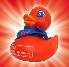 Quietsche Ente Kostenlos @Alltours Reisecenter in Duisburg