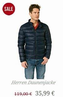 Sale im MUSTANG-ONLINE-SHOP■ z.B. Herren Daunenjacke 35,99 ■ versandkostenfrei