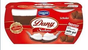 [Lokal / Globus] Danone Dany & Sahne 4x115g mit Coupon 0,48 €