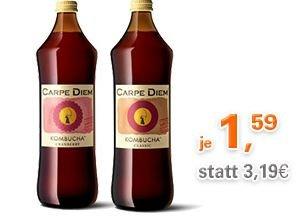 Carpe-Diem-Kombucha für 1,59 € bei Allyouneed.com