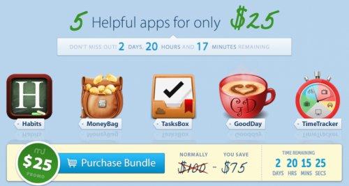 (MAC) Das neue MacUpdate Bundle mit 5 Apps für 18,88€ - nur 3 Tage erhältlich!