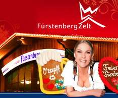 [Stuttgarter Volksfest] 1 Mass Bier + 1/2 Göckele im Fürstenbergzelt (Cannstatter Wasen) für 8,45€ statt 16,90€