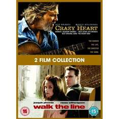 (UK) Crazy Heart / Walk The Line [DVD] für €5.89 @ Play (Marketplace)