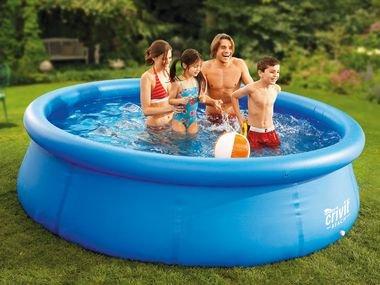 CRIVIT Pool-Set PVC 305 x 76 cm für 44,44€ + 4,95€ Versand @Lidl Online