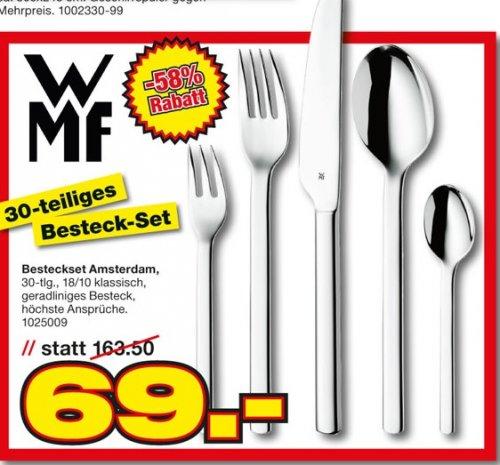 WMF Amsterdam Besteckset 30tlg im Möbelhof Ingolstadt und Parsberg für 69 Euro