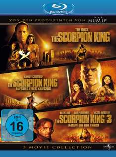 [Amazon] The Scorpion King 1-3 - Box [Blu-ray]