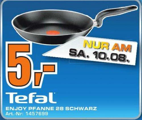 Tefal Enjoy 28cm Pfanne für 5 Euro am 10.8 im Saturn Köln