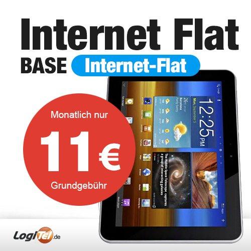 """Galaxy Tab 8.9 LTE P7320 16GB Soft Black mit 500MB Inet """"Flat"""" , 11€/ Monat auf zwei Jahre"""