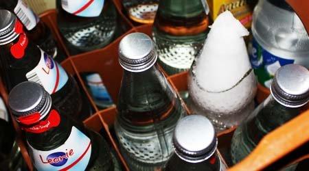 Leonie Mineralwasser Glasflasche 4 Kästen 5€ ab 05.08 bis 10.08