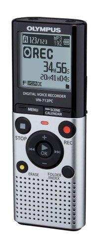 Digitales Diktiergerät Olympus VN-712 PC 2GB für nur 33,99 EUR inkl. Versand
