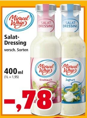 [Thomas Philipps] Miracel Whip Salatdressing 78 Cent (Normalpreis 1,69 €)