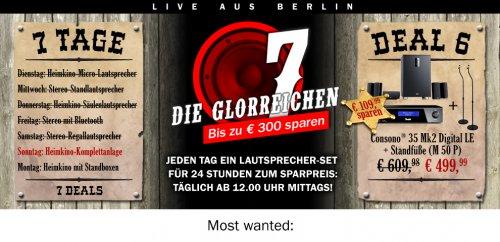 7 Tage 7 Deals auf Teufel.de