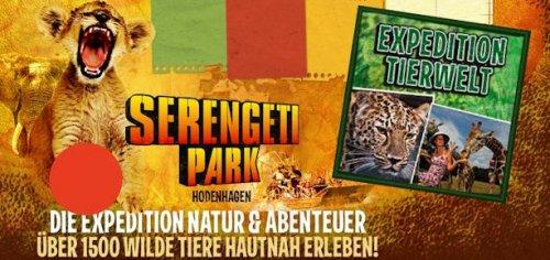 Serengeti-Park Hodenhagen Eintritt FREI [heute] 27€ Wert