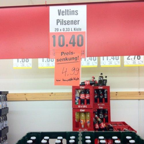 [Lokal Recklinghausen] Veltins 20 x 0,33 l für 4,99